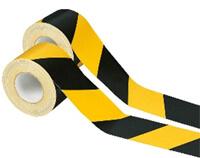 Gelb Weiß gestreift