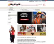 Screenshot Absperrshop.de